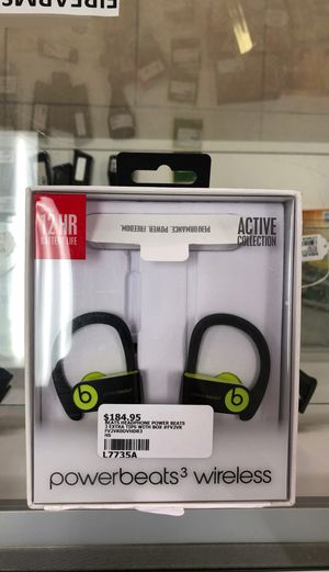 Power beats 3 wireless headphones for Sale in Houston, TX