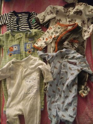 Carters and Buster Brown Sleepers / Newborn 3months 6months for Sale in Philadelphia, PA