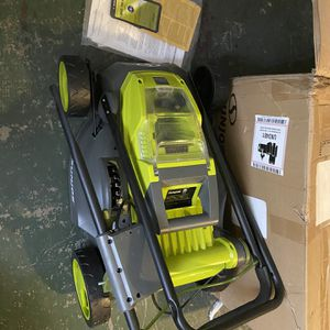 SunJoe Ion16lm cordless lawn mower for Sale in Sloan, NV