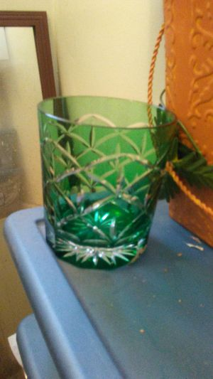 One green glass..that is kelly green..its like art for Sale in San Francisco, CA
