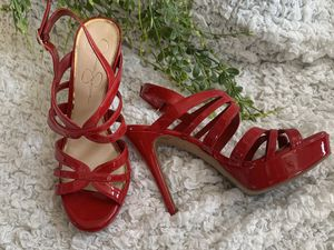 8.5 Women's Jessica Simpson red heels for Sale in Plano, TX