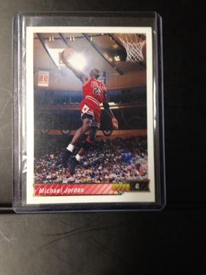 7 Michael Jordan upper deck base cards for Sale in Pekin, IL