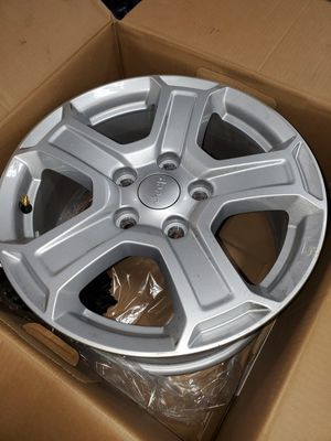 """2020 jeep JL 17"""" wheels for Sale in San Diego, CA"""