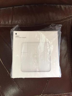 Apple MacBook USB c 87w power adapter for Sale in Hayward, CA