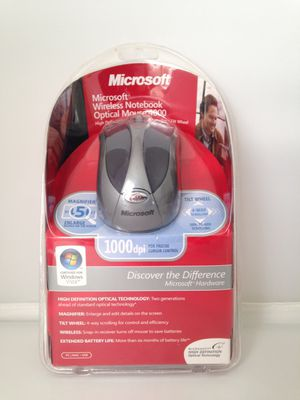 MICROSOFT WIRELESS NOTEBOOK OPTICAL MOUSE for Sale in Ashburn, VA
