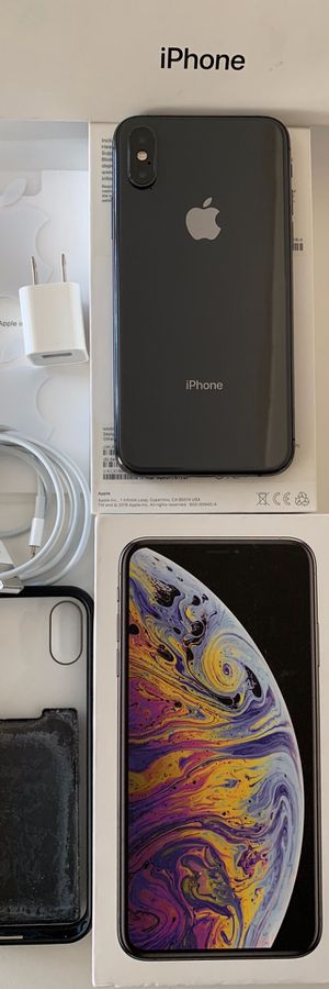 🔥IPHONE XS 64GB UNLOCKED WORKS W/ANY CELLPHONE CARRIER WE CAN MEET AT ANY CELLPHONE STORE VERIFY EVERYTHING WORKS💯%👍🏼 for Sale in San Marcos, CA