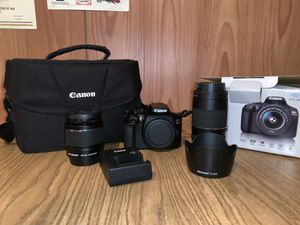 Cannon t6 Rebel with camera bag for Sale in Columbia, SC