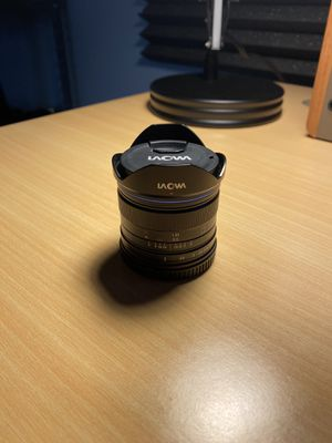 Laowa 7.5mm Lens (Micro Four Thirds Mount) for Sale in Newark, OH
