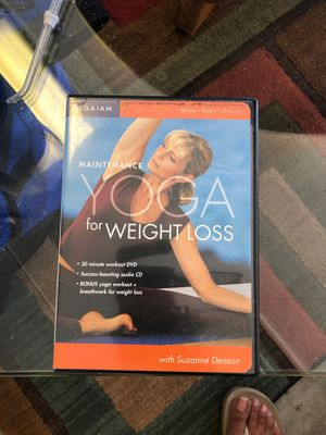 DVD Yoga workout for Sale in Carlsbad, CA