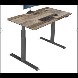 VARI Standing Desk - Reclaimed Wood Style for Sale in Norcross, GA