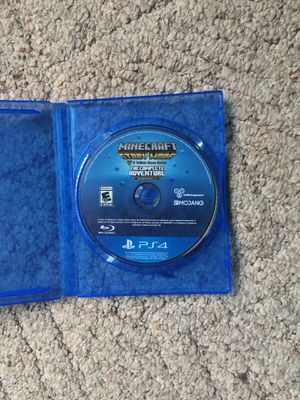 Minecraft story mode PS4 for Sale in McNary, AZ