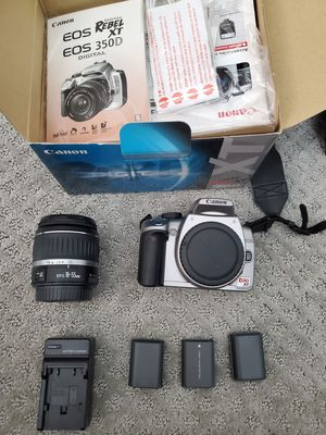 Canon Rebel XT (EOS 350/Rebel XT) for Sale in Rancho Cucamonga, CA