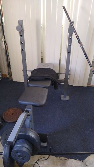 Work out bench for Sale in Ocala, FL