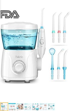 Sealed unopened New Water Flosser Dental Oral Irrigator for Teeth Brace Clean with 10 Adjustable Water Pressure, 600ml Capacity FDA Approved for Sale in Silver Spring, MD