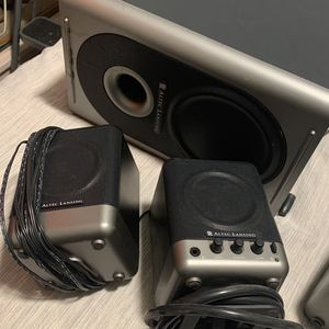 Altec Lansing Stereo System With Subwoofer for Sale in Chino, CA