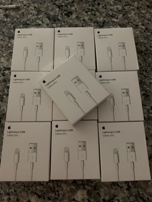 10 2M Long Lightning Cables For 60$ Blowout Sale!!! Get Yours Now Only 20 left !!! for Sale in Pembroke Pines, FL