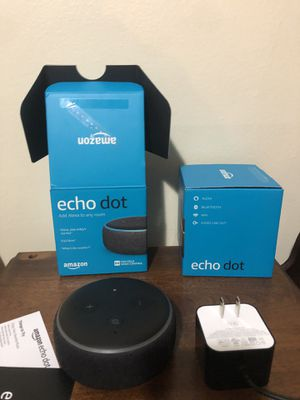 Amazon echo dot for Sale in Tonawanda, NY
