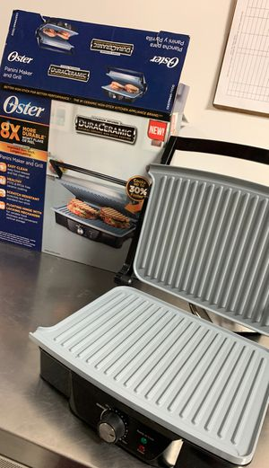 Oster CKSTM40-TECo Panini Maker and Indoor Grill for Sale in Chicago, IL