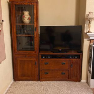 3 Piece Media Console TV Stand Storage Set for Sale in San Diego, CA