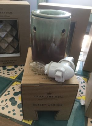 New Home Decor Crafters & Company Outlet Warmers for Sale in West Covina, CA