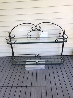Wall bakers rack for Sale in Carol Stream, IL