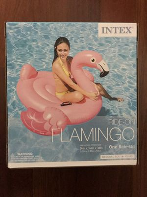 New Float Ride On Flamingo for Sale in Downers Grove, IL