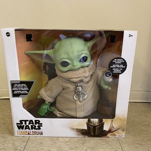 "Star Wars The Child Baby Yoda The Mandalorian with 4 Accessories 12"" Tall for Sale in Buena Park, CA"