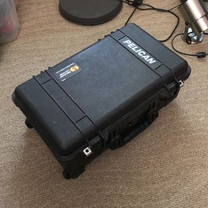 Pelican 1510 Case With Padded Dividers (Black) for Sale in Gilbert, AZ