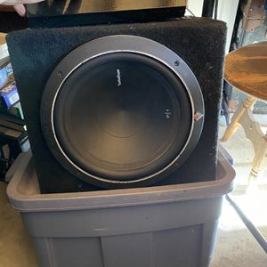 Rockford Fosgate 10in sub for Sale in Oxnard, CA