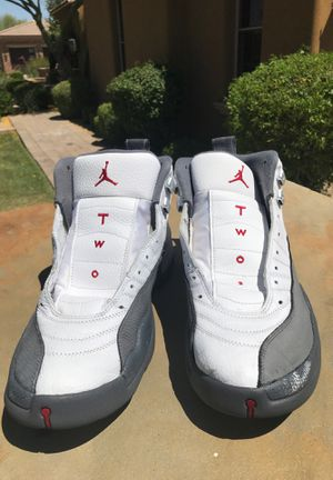 **LAST PRICE DROP** Air Jordan 12 retro white and grey for Sale in Gilbert, AZ