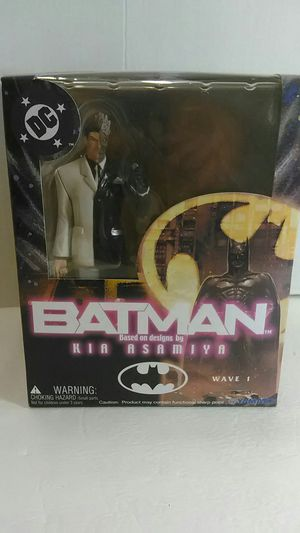 """Batman Based on Design by Kia Asamiya """" Two Face Action Figure """" (Poster Inside) for Sale in Providence, RI"""