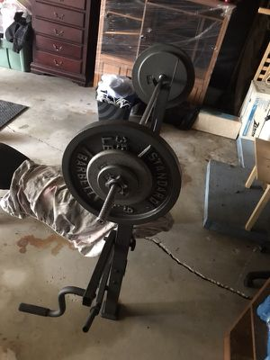 Standard Workout equipment for sale for Sale in Baytown, TX