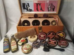 General Electric Wood Shoe Shine Box for Sale in Pinellas Park, FL