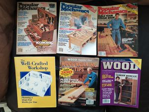 Popular Mechanics / Wood Magazine / Workshop Design 6 Issues for Sale in South Attleboro, MA