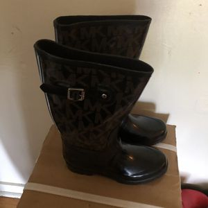 Michael Kors rain boots very nice good condition for Sale in Pittsburgh, PA