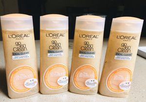4 L'Oréal deep exfoliating scrub for Sale in Glendale, AZ