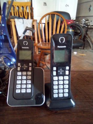 Panasonic cordless phone system small business for Sale in Evansville, IN