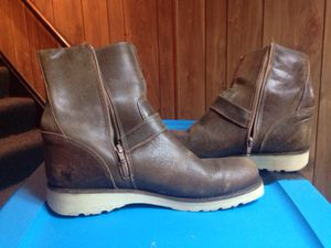 Aldo men's leather boots for Sale in Hinckley, OH
