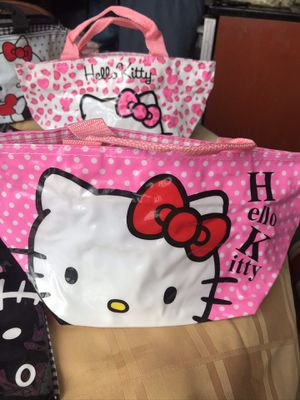Plastic purse bag hello kitty cat 🐈 for Sale in Sunny Isles Beach, FL