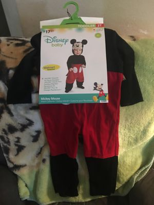 Mickey Mouse Halloween Costume 2t for Sale in Bakersfield, CA