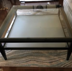 Large square coffee table for Sale in Mansfield, TX