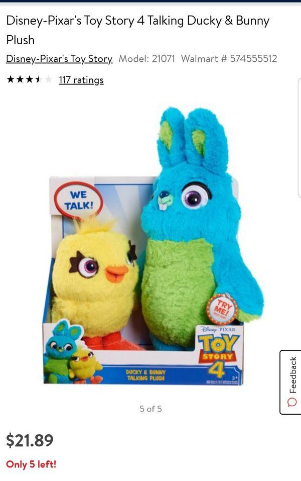 Toy story plushies