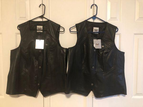 Brand new Ladies Harley Davidson leather vest
