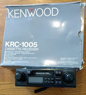 Old School Kenwood Tape Deck And Stereo for Sale in Damascus, MD