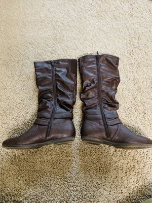 Size 6.5 women ride on boots for Sale in Herndon, VA