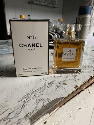 Chanel number 5 woman's perfume for Sale in Warren, MI