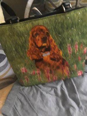 Bling Cocker spaniel handbag $20.00 cash only (For serious buyers only) for Sale in Dallas, TX