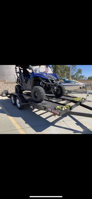 2019 trailer car hauler for Sale in Palmdale, CA