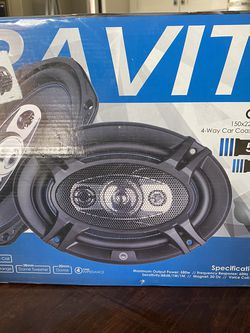 Gravity Car Speakers $30 - Never Used for Sale in Brentwood,  CA