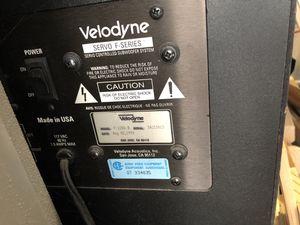 "Velodyne F1200-B 12"" subwoofer for Sale in Newark, CA"